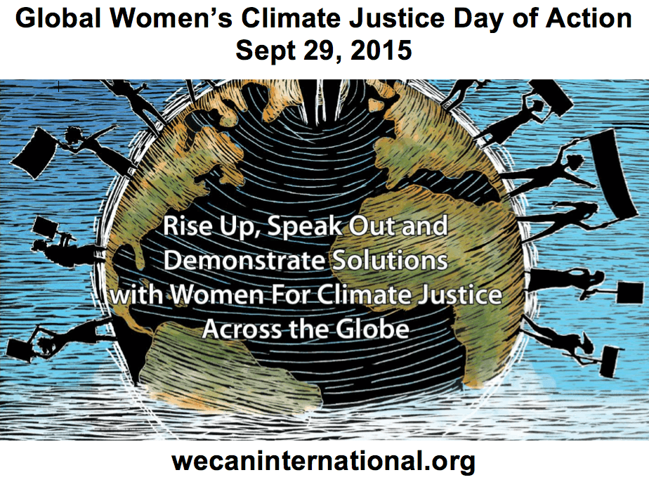 Global Women's Climate Justice Day of Action