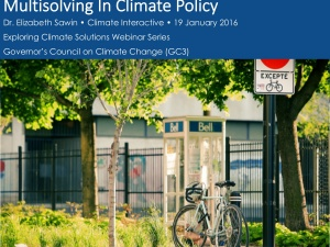 climate action can produce benefits in jobs, health and resilience