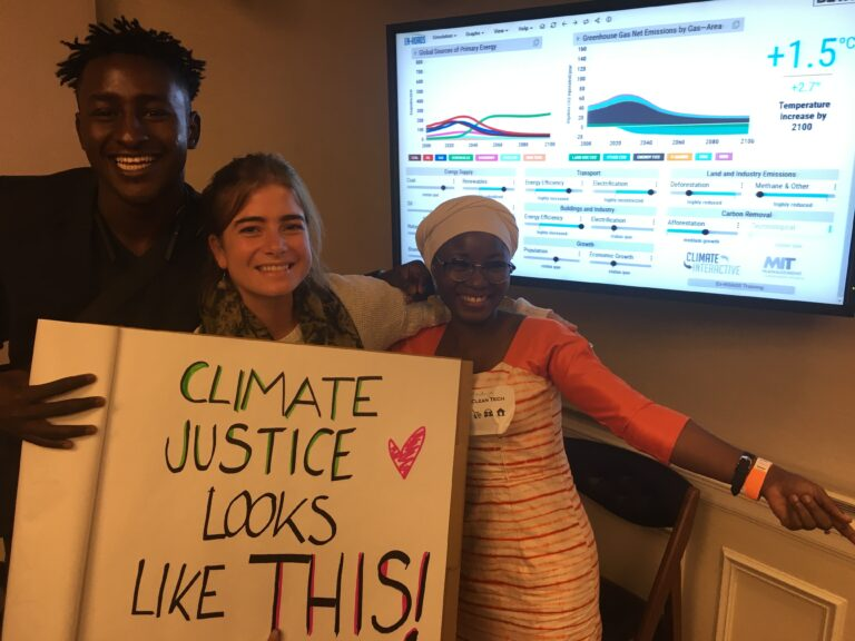 Climate justice looks like this